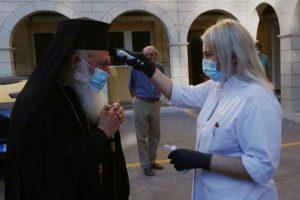 """Ο διάβολος φόραγε την μάσκα στους πιστούς και ο Χριστός είπε: """"αυτούς δεν τους γνωρίζω"""" ( όραμα γερόντισσας - π. Σάββας Αγιορείτης)"""