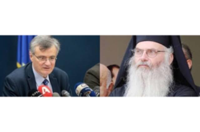Αναπληρωματικό μέλος της επιτροπής Βιοηθικής της εκκλησίας της Ελλάδος ο Σ. Τσιόδρας και πρόεδρος της επιτροπής ο Μεσογαίας Νικόλαος!!!