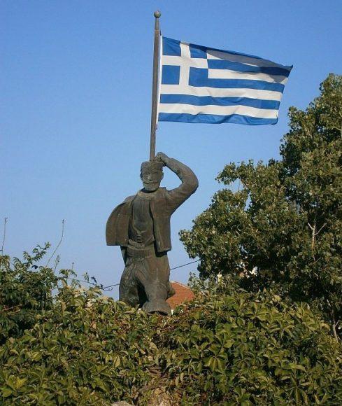 Σπύρος Καγιαλές: Όταν το κορμί γίνεται ιστός σημαίας (Ακρωτήρι Χανίων ~ 09.02.1897)