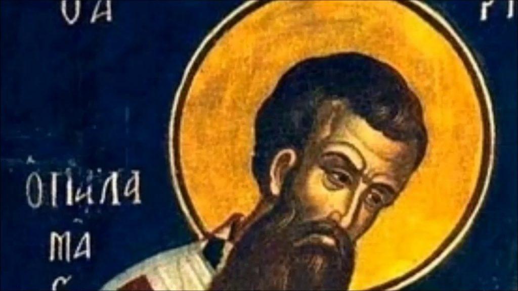 άγιος Γρηγόριος Παλαμάς και αναθέματα ~ π. Γ. Μεταλληνός