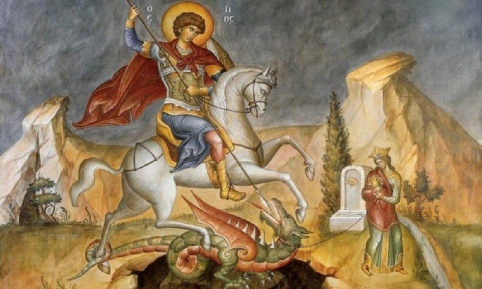 Όταν ο άγιος Γεώργιος ανέστησε τον νεκρό ειδωλολάτρη!